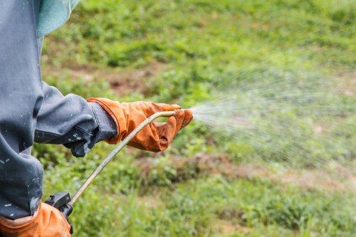 защитные перчатки для использования гербицидов