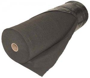 чёрная ткань для защиты от сорняков