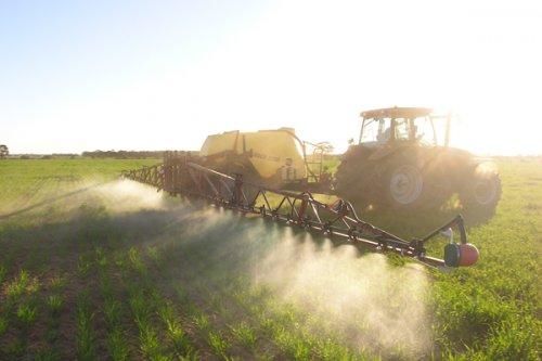 сплошное внесение пестицидов на сельскохозяйственные культуры